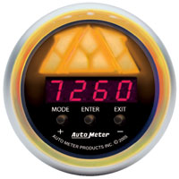 Click for a larger picture of Auto Meter Sport-Comp Digital Pro Shift Light Gauge, Level 1