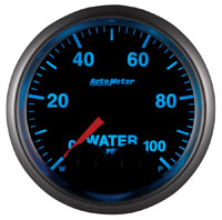 """Click for a larger picture of Auto Meter Elite 0-100 PSI Water Pressure Gauge, 2-1/16"""""""