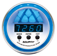 Click for a larger picture of Auto Meter C2 Digital Pro Shift Light Gauge, Level 2