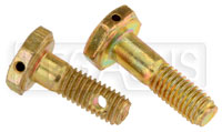 Click for a larger picture of AN3 Airframe Bolt - Drilled Head, 10-32 Thread