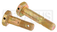 Click for a larger picture of AN4 Airframe Bolt - Drilled Head, 1/4-28 Thread