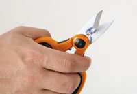 Click for a larger picture of Beta Tools 1128BCX Electrician's Scissors
