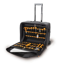 Click for a larger picture of Beta Tools C8 Nylon Rolling Tool Trolley with Dividers