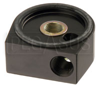 Click for a larger picture of Canton Universal Single Input Oil Adapter, 18mm x 1.5