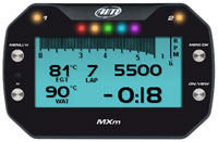 Click for a larger picture of AiM MXm Compact Dash Logger