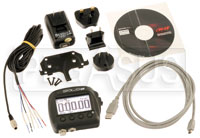 Click for a larger picture of AiM SoloDL On-Board Lap Timer, CAN / RS232 ECU Wiring