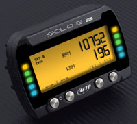 Click for a larger picture of AiM Solo2DL On-Board Lap Timer, CAN / RS232 ECU Wiring