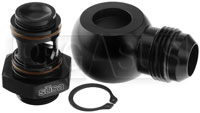 Click for a larger picture of Setrab M22 to 12AN Banjo Adapter Kit, 90 Degree