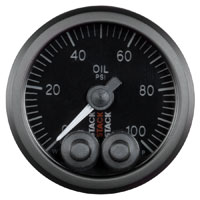 Click for a larger picture of Stack Pro-Control Oil Pressure Gauge, 0-100 psi