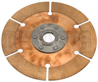 Click for a larger picture of Tilton OT-2 Stacked Multi Clutch Disc - Inner (Thin) 1 x 23