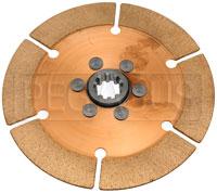 """Click for a larger picture of Tilton OT-2 Clutch Disc, 7.25"""", 1 x 10 Spline"""