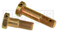 We now stock many more sizes of AN Bolts including many with Drilled Heads and/or Drilled Shanks